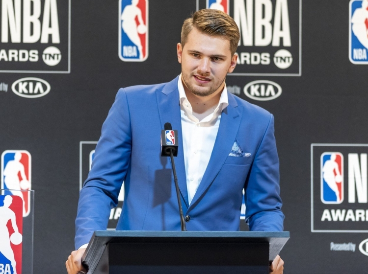 Santa Monica, Kalifornija: NBA Rookie of the Year letošnje sezone je Luka Dončić