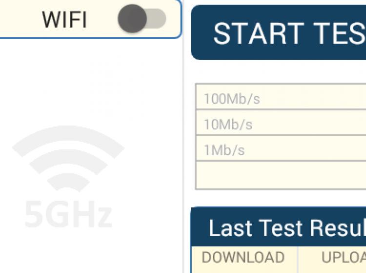 Aplikacija za preverjanje kakovosti signalov Wi-Fi, 4G, 3G in GSM v Evropi